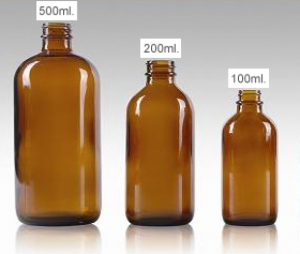 Coconut Enzyme Oil Bottles