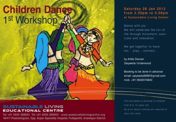 Children Dance - 1st Workshop